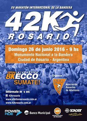 Se siguen sumando corredores para la Maratón Intercional 42K ROSARIO