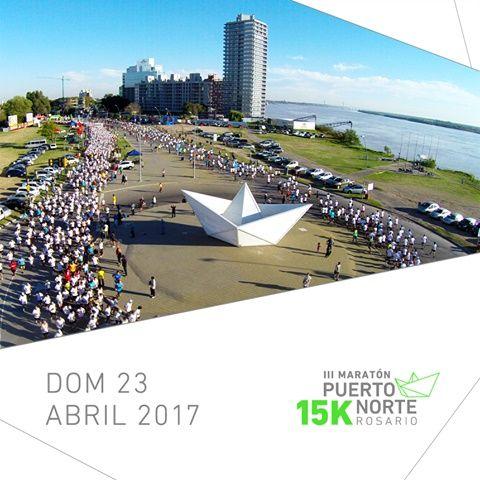Se viene la 3ª Maratón 15K Puerto Norte