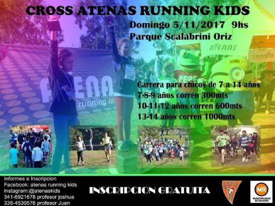 CROSS ATENAS RUNNING KIDS: Para que los chicos se diviertan corriendo !