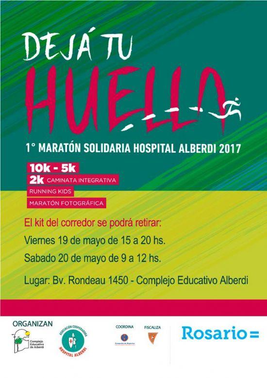 El domingo se realiza un maratón a beneficio del Hospital Alberdi