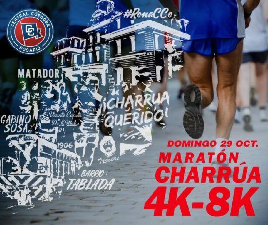 Este domingo 29 con largada 9:00 hs. desde el Gabino Sosa: MARATON CHARRUA en Rosario
