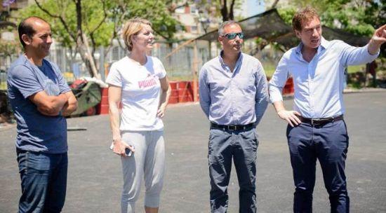 PARQUE CHACABUCO, LA PRÓXIMA PISTA SINTÉTICA EN BA