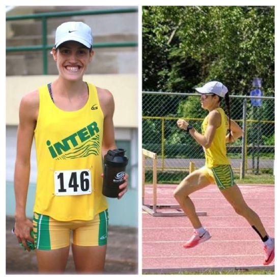 CAROLINA LOZANO RECORD NACIONAL U23 DE LA MILLA EN PISTA