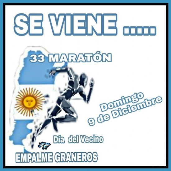 Todos a colaborar con la 33° Maratón Día del Vecino