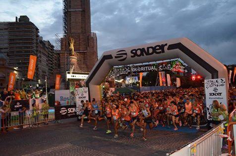 Se corrió la 14ª edición de la Maratón Nocturna 10K Sonder 2018