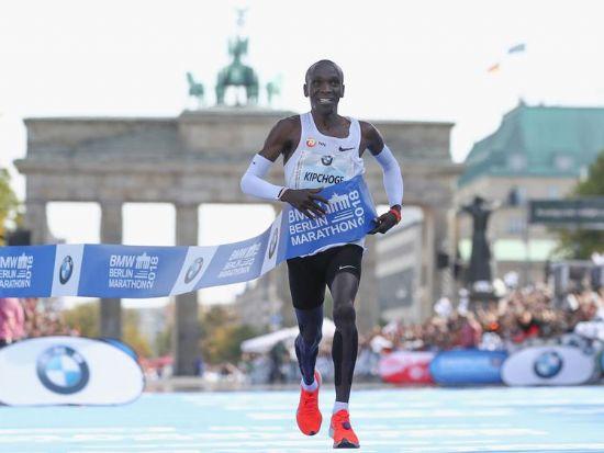 Estadísticas asombrosas del record mundial de maratón de Eliud Kipchoge
