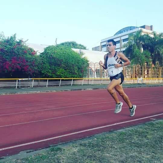 Julián Molina se lució en la pista y va por más