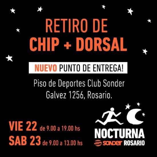 Entrega CHIP + DORSAL 10k SONDER 2019