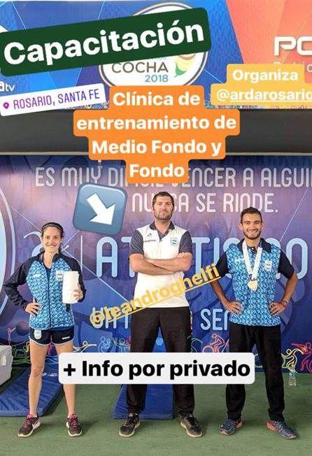 CLINICA ENTRENAMIENTO MEDIO FONDO Y FONDO