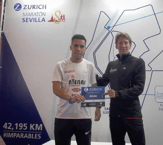 Julian Molina debuta en los 42k en la Maratón de Sevilla