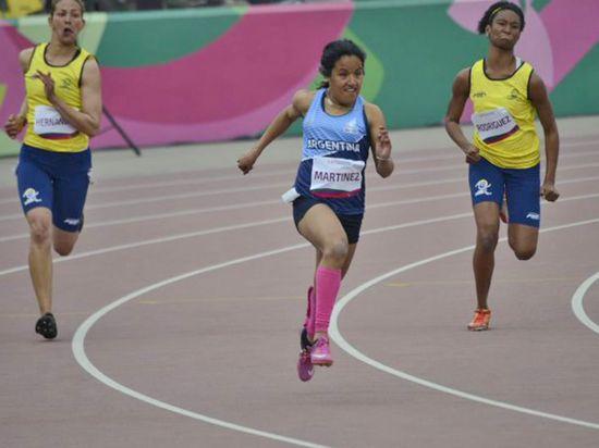 Yanina Martínez es de oro: la rosarina se quedó con los 100 y 200 metros