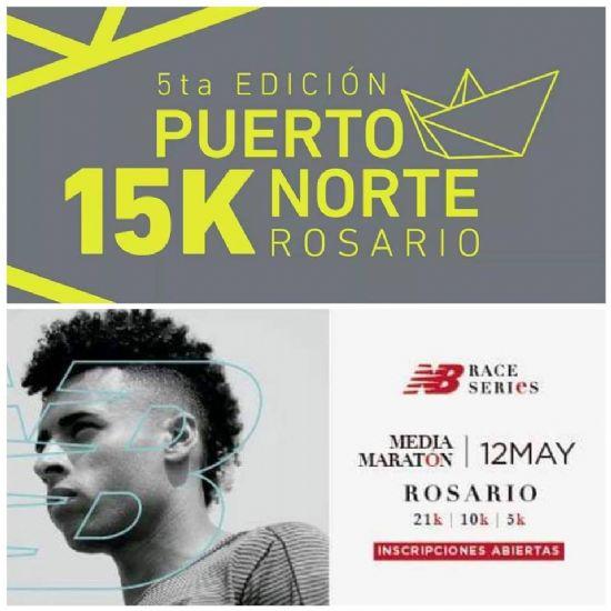 15k Puerto Norte (14 de Abril) y Media Maratón NB (12 de Mayo): Todas las miradas recaen sobre Rosario