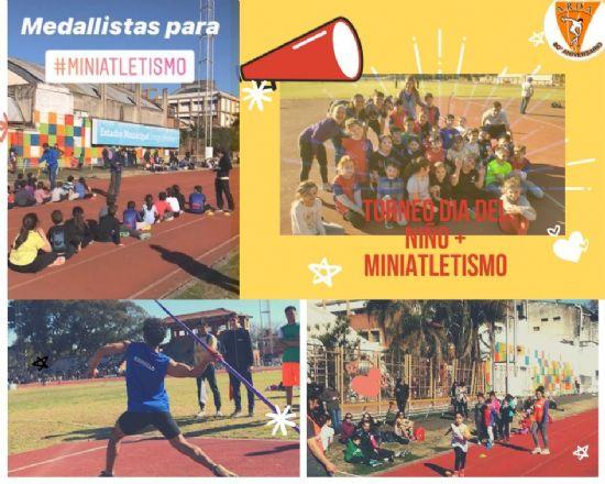 """Gran Torneo """"Día del Niño"""" organizado por la Asociación Rosarina de Atletismo"""