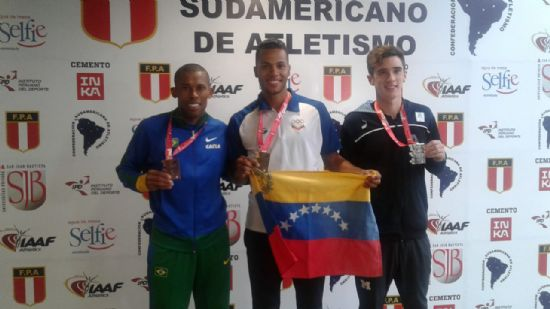 Las primeras medallas argentinas, en 1500 y disco