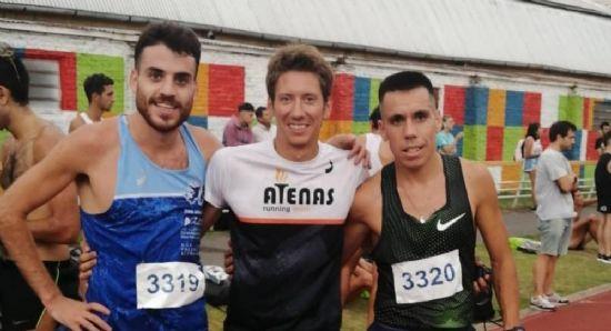 Julián Molina y Berni Maldonado volaron en Rosario