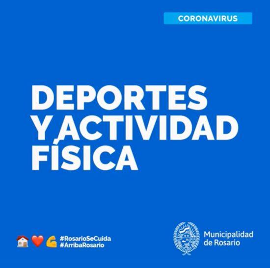 CORONAVIRUS: DEPORTES Y ACTIVIDAD FÍSICA (A PARTIR DEL LUNES 8/6)