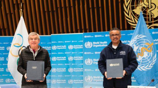 El COI y la OMS se unen para mejorar la salud a través del deporte